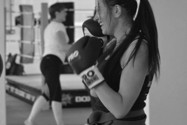 Ladies only kickboxing fitness