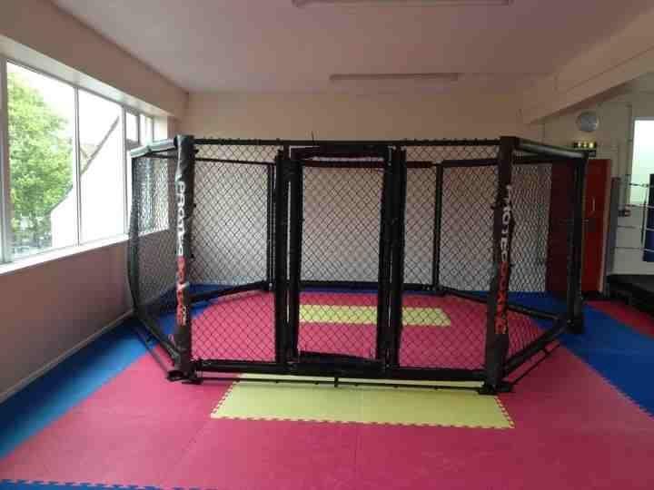 Mixed martial arts cage