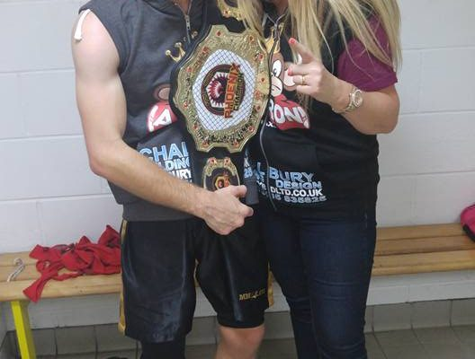 MMAX Gym Aaron wins boxing title