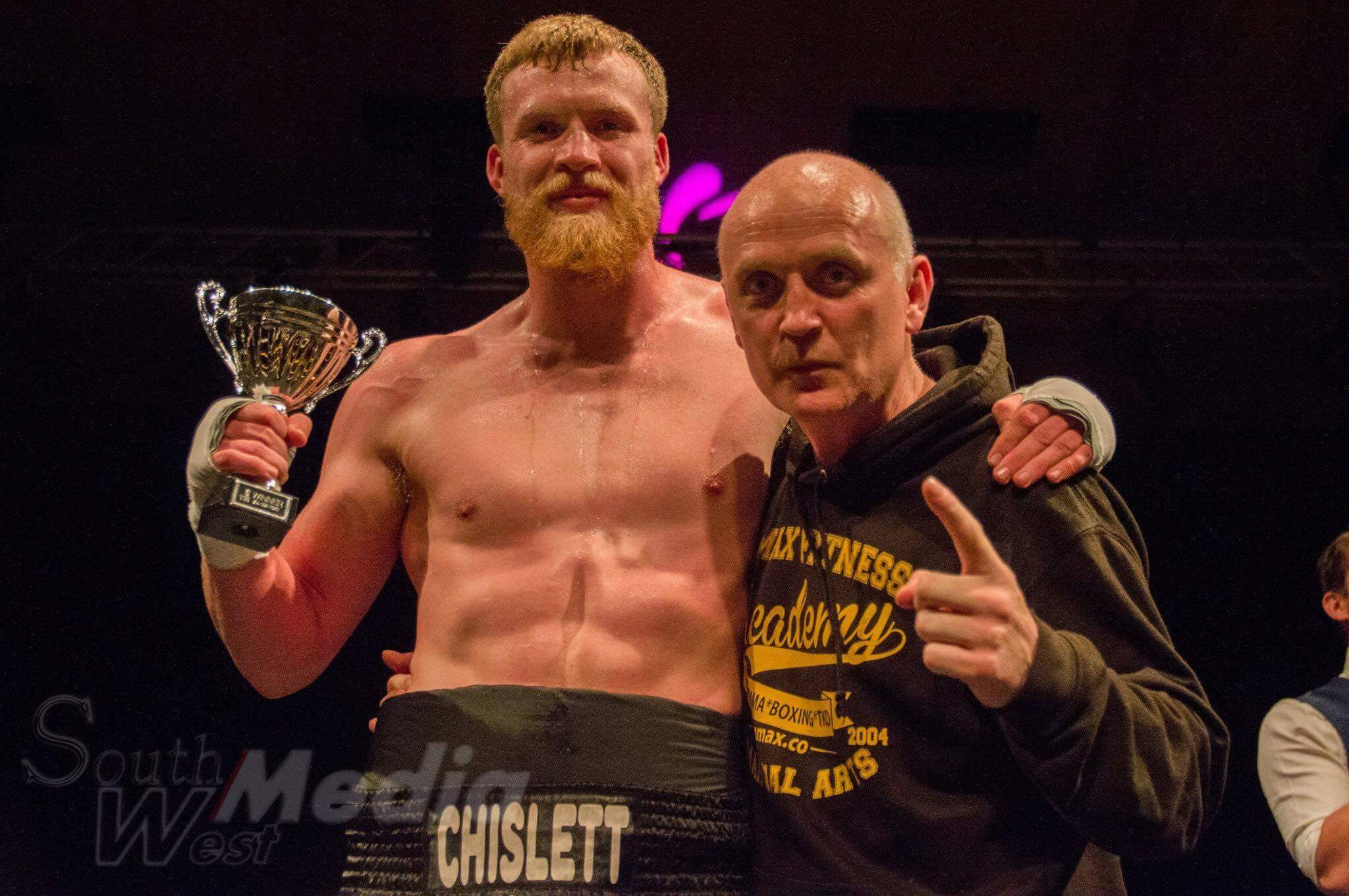 MMAX gym boxer Jake is on a role with another successful win